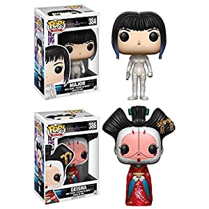 Funko POP Ghost In The Shell Major Geisha Stylized Vinyl Figure Set NEW