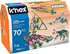 KNEX- Imagine-Jeu Construction-Maxi Box 70 Modèles, 17435