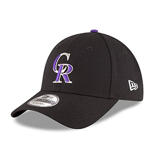 New Era Herren 9Forty Colorado Rockies Kappe, Schwarz, OSFA
