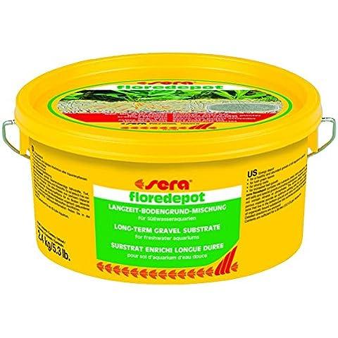 Sera, Floredepot, Fertilizzante per piante acquario, 2.4 kg