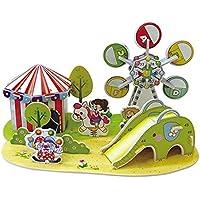 3D gruesa espuma Cartón Puzzle bricolaje Kit de artesanía/Modelo de edificio/Regalo/Kit de modelo Para niños # 59 - Peluches y Puzzles precios baratos