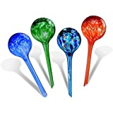 Globos de riego, Fascigirl 4 paquetes de la planta de cristal Globos de riego que riegan
