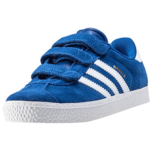adidas Unisex-Kinder Gazelle 2 Cf Low-Top Blue