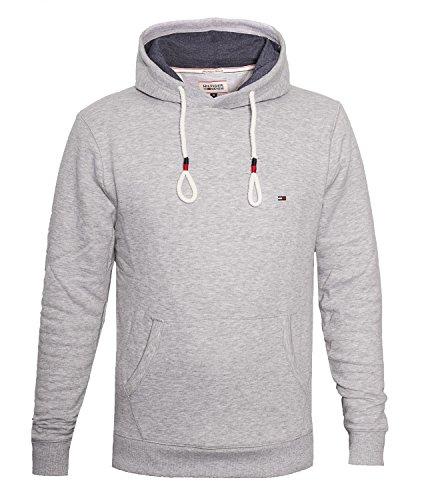 tommy-hilfiger-denim-vaco-herren-kapuzenpullover-sweatshirt-slim-fit-grossel-farbelight-grey-heather