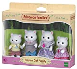 Sylvanian 5216 Families Persian Cat Family Set