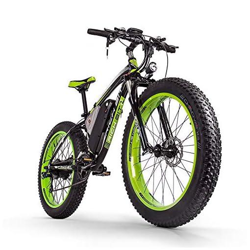 Rich Bit Bicicletta Elettrica Da Uomo E Bike Fat Snow Bike 1000w 48v