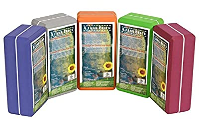 Yogabrick / Yogablock high density, 22 x 11 x 7, 4 cm Schadstoffgeprüft - recycelbar - abwaschbar Material: EVA-Schaum (Ethylene-Vinyl-Acetat)
