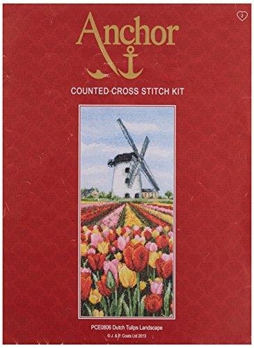 Anchor CS Dutch Tulpen Landschaft, Mehrfarbig -