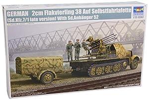 Trumpeter 1524 - Flak38 SD.Kf. 7/1 - Tanque con cañón autopropulsado alemán