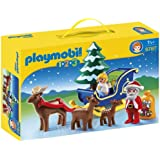 Playmobil 6787 1.2.3 Father Christmas with Reindeer Sled