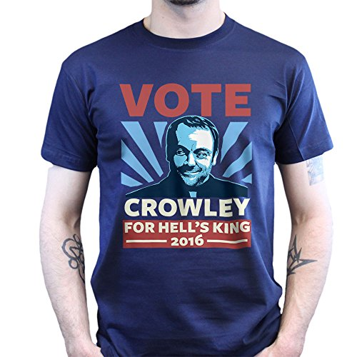 Vote Crowely For King Super Natural T-shirt Jungle Green