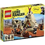 LEGO The Lone Ranger - 79107 - Jeu de Construction - Le Camp Comanche