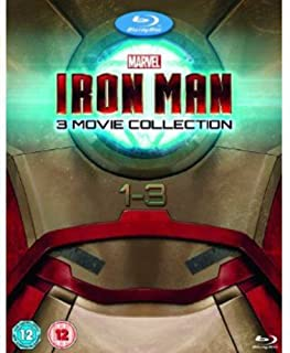 Iron Man 1-3 Complete Collection [Blu-ray] (B00FFBA87E) | Amazon Products