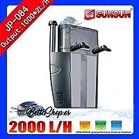 FILTRO INTERIOR PARA ACUARIO 2000L/H 2X1000L/H FILTROS INTERNO DE ACUARIO PECERA
