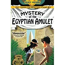 Mystery of the Egyptian Amulet: Adventure Books For Kids Age 9-12: Volume 2 (Kid Detective Zet)