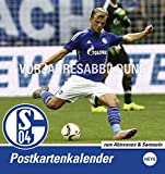 Schalke 04 Sammelkartenkalender - Kalender 2017