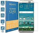PREMYO verre trempé HTC One M9. Film protection HTC One M9 avec un degré de dureté de 9H et des angles arrondis 2,5D. Protection écran HTC One M9