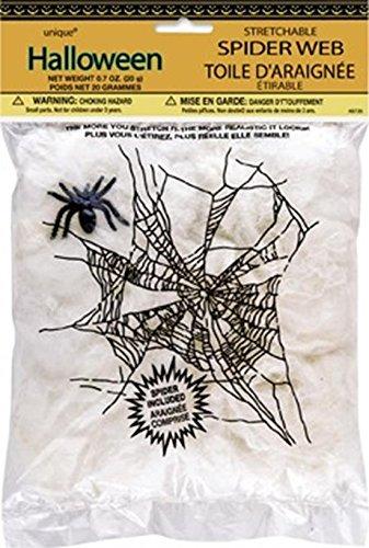 Unique Party Supplies Halloween Spider Web und Spider (Halloween Eingang Party Ideen)