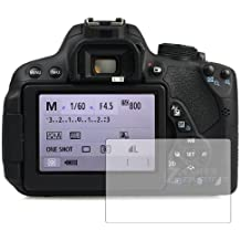 3 x Membrane Protectores de Pantalla para Canon EOS 700D - Transparente, Embalaje y accesorios