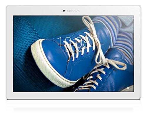 Lenovo Tab2 A10-30 25,5 cm (10,1 Zoll HD IPS Touch) Tablet-PC (Qualcomm Snapdragon MSM8909, 2GB RAM, 16GB eMCP, LTE, Android 5.1) weiß