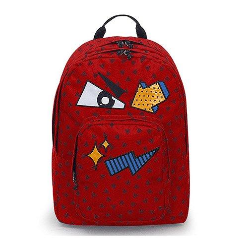 bb6a74b88f Caratteristiche ed informazioni su zaino invicta - dial pack face - fiesta  red rosso - tasca porta ...