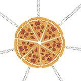 Best Amigos Collares pizzas - Siete conjuntos de costura Amistad pizza collar de Review