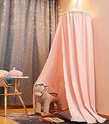 Baby Betthimmel Deko Baldachin M/ückennetz Moskitonetz f/ür Baby Kinder Prinzessin Chiffon h/ängende Moskitonnetz f/ür Schlafzimmer Dekoration f/ür Bett und Schlafzimmer coil.c Betthimmel f/ür Kinder