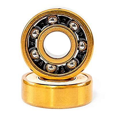 Trouble Titanium Bearings Skateboard Longboard Skate Kugellager Gold (TB3)