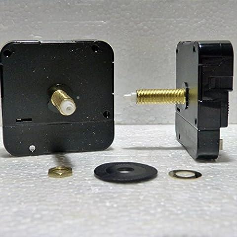 Neue Quarz Extra lange Spindel Inlett Uhrwerk (Gesamt Schaft Länge 31mm)