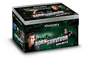 Bear Grylls Collector's Edition Box Set [DVD] (2012) (14 Episodes / 8 Discs)