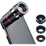 Apexel Kit Objectif Appareil Photo Optique 10x avec coque arrière rigide pour Apple iPhone 7
