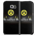 DeinDesign Samsung Galaxy S6 Leder Flip Case Tasche Hülle Borussia Dortmund BVB Stadion