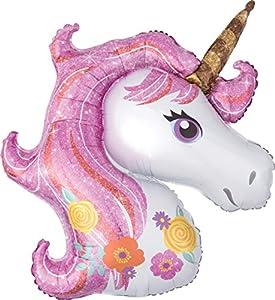 Amscan International 3727301 - Globo de unicornio mágico