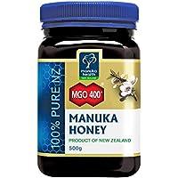 Manuka Health - Manuka Honig MGO 400 + 500g - 100% Purer aus Neuseeland mit zertifiziert aktiver Methylglyoxal