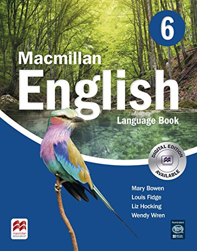 MACMILLAN ENGLISH 6 Language Book: Language Book 6 - 9781405081375
