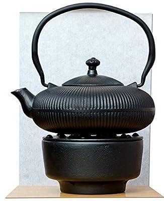 Thé chaud & Bouilloire Théière Théière en fonte Zen Mountain Noir 0,8l