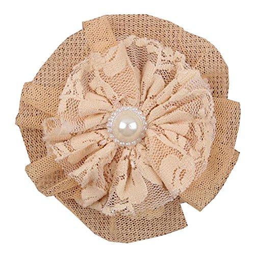 Fleur Coiffe HB00163A de Surker bricolage Perles Dentelle enfants (10)