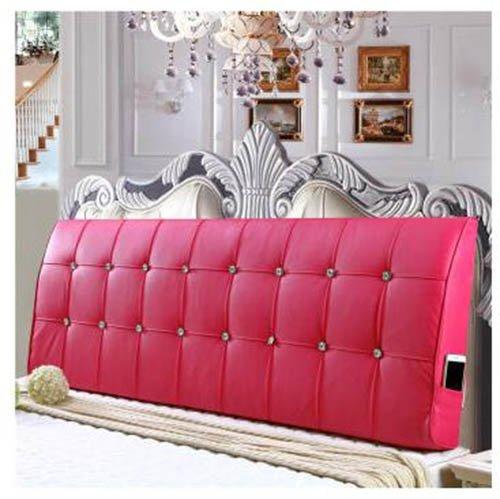 Simmons Bett Von (lhl-Standard-Füllung Kissen Waschbare dreieckige Ebene Single / Double Simmons Bett gebogene Rückenlehne Kissen Soft Pack Bettwäsche / Sofa / Lendenwirbelkissen ( Farbe : F , größe : L ))