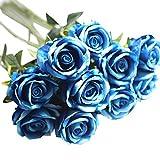 Simulation Flower Flanellrosen Rosennie Künstliche Gefälschte Rosen Flanell Blume Brautstrauß Hochzeit Home Decor 5 Stück Künstliche Gefälschte Rosen Flanell Blumen Brautstrauß Hochzeit Home Decor