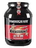 KREASTERON 7, Dose 1610 g, ultimatives ALL-IN-ONE-Aufbauprodukt mit 7 Nährstoff-Kombinationen, Muskelaufbau und Kraftsteigerung. Geschmack: Orange