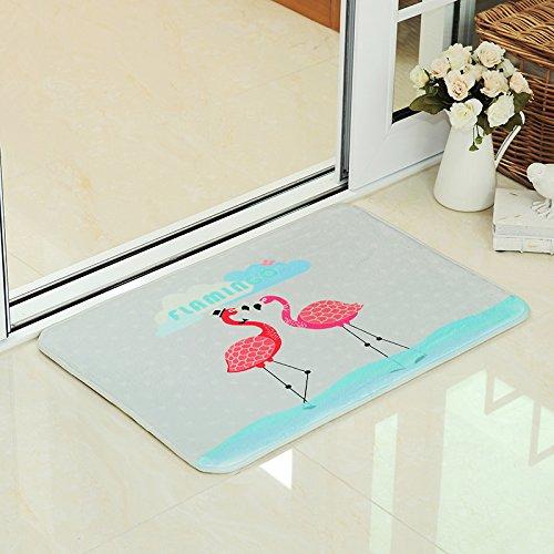 Felpudos Frikis estilo nórdico Alfombrillas Introducción con alfombra de baño Wc Puerta Mat Mat absorbente,60*90cm.