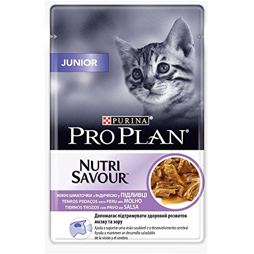 Purina ProPlan en Sauce Chat Junior Paon 24x 85g