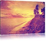 cabine effetto meraviglioso Bunstift, formato balneare: 120x80 su tela, XXL enormi immagini completamente Pagina con la barella, stampa d'arte sul murale con telaio, più economico di pittura o un dipinto a olio, non un manifesto o un banner,