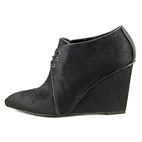 Nine West Hartie Cuir Bottine Black-Black