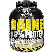 Master ZX | GAINER 25% - Mass Gainer 25% de Proteina - Incrementa la