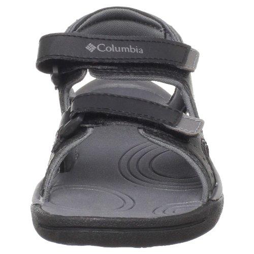 Columbia - Sandali, Unisex - bambino Nero (Schwarz (Black, Smoked Pearl 010))