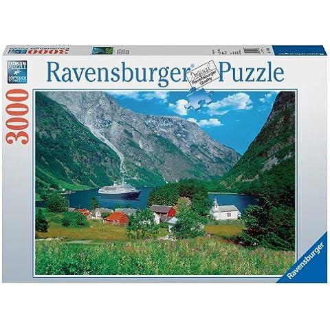 Ravensburger 17041 - Il fascino della Norvegia, puzzle 3000 pezzi