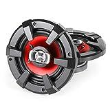 auna SBC-5121 • 3-Wege-Koaxial-Boxen • HiFi Set • Einbau-Lautsprecher Paar • Auto Lautsprecher • 1000 Watt max. Leistung • 2 x 13 cm-Lautsprecher • Neodymium-Tweeter • ASV-Schwingspule • Schalldruck: 89 dB • Frequenzgang: 90 Hz bis 20 kHz • schwarz-rot