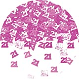 from Amscan Amscan International Pink Shimmer Confetti 21 Model 991405