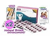 2x 60 Procurves Plus Tabletten zur Brustvergrößerung für mehr Brustvolumen und für einen schönen Busen und ein attraktives Dekollete - inklusive GRATIS-Übungen mit Bildern und Videos zur Vergrößerung der Brust und zur Bruststraffung (2-Monats-Sparpack)